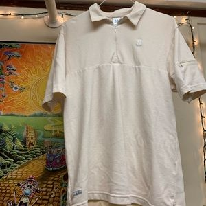 Vintage Early 2000's Nike Tennis Zip Front Polo